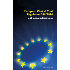 European Clinical Trial Regulation No. 536/2014 (Pocketbook)