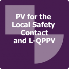 PV for the Local Safety Contact and L-QPPV Online Training